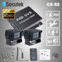Kamerový systém do nákladního vozu Secutek CS-S2