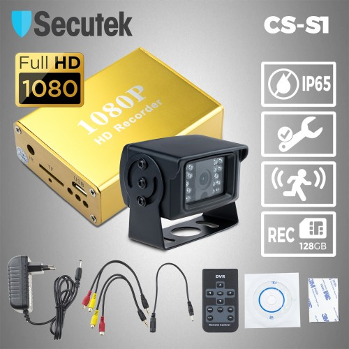 Kamerový systém do nákladního vozu Secutek CS-S1