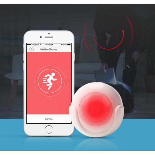 PIR pohybový alarm Secutek Smart WiFi AMS01