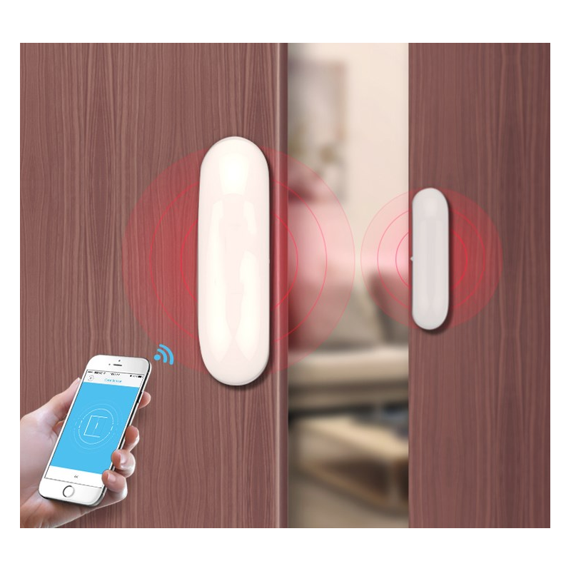 Dveřní alarm Secutek Smart WiFi ACS01