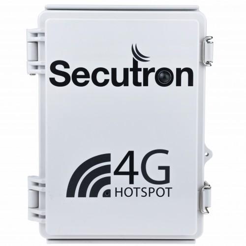 Secutron 4G UltraLife kamera v instalačním boxu