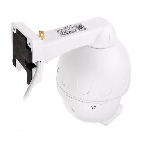 Mini otočná IP kamera se záznamem Secutek SBS-SD07W- 5x zoom, HD, 128GB, IR 25m
