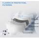 Antibakteriální rouška z nano vláken Secutek Nano+ s vyměnitelným filtrem s aktivním uhlíkem