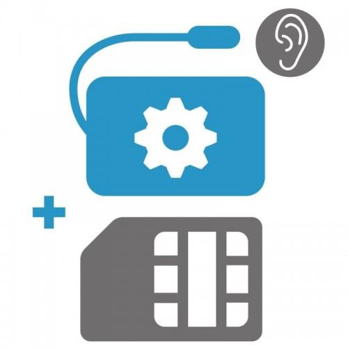 Nastavení GSM/GPS + SIM karta