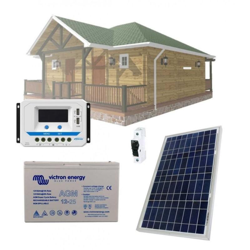 Solární systém 30Wp / 12V