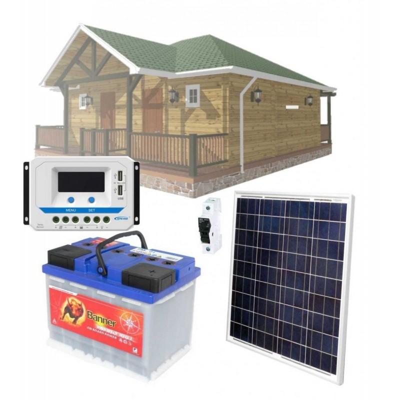 Solární systém 60Wp / 12V
