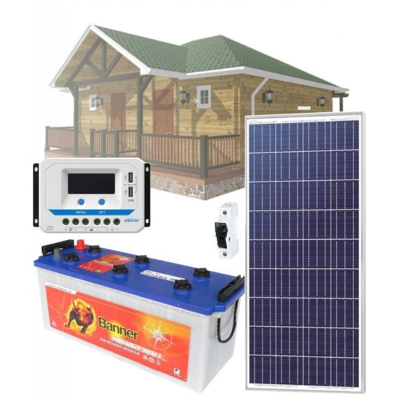 Solární systém 175Wp / 12V