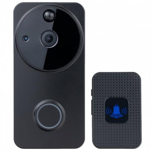 100% bezdrátový videozvonek Secutek SRT-WD08