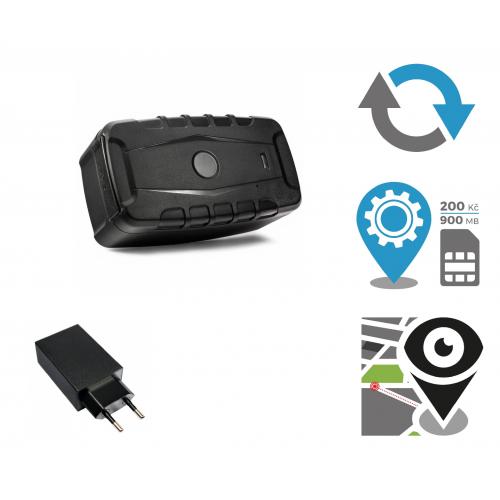 Secutek - sada GPS lokátoru pro sledování vozidla - výdž 400dní