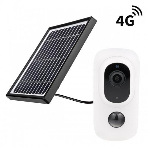 Bateriová solární 4G IP kamera Secutek SBS-QH15G