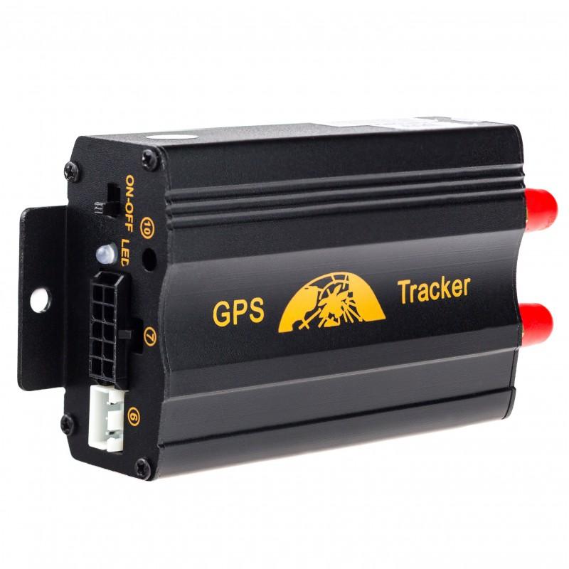 GPS lokátor pro pevné připojení na autobaterii