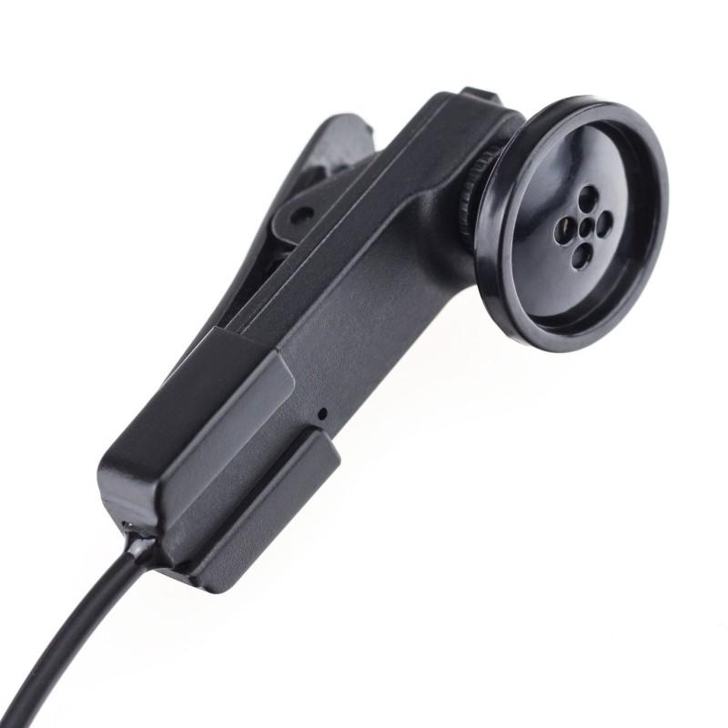 Minikamera v knoflíku Secutek MT-N4131 pro živé streamování