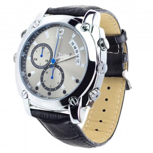Špionážní hodinky s kamerou a diktafonem Secutek MK04