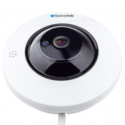 Panoramatická WiFi IP kamera Secutek LMDEF300 - 3Mpix, 360°