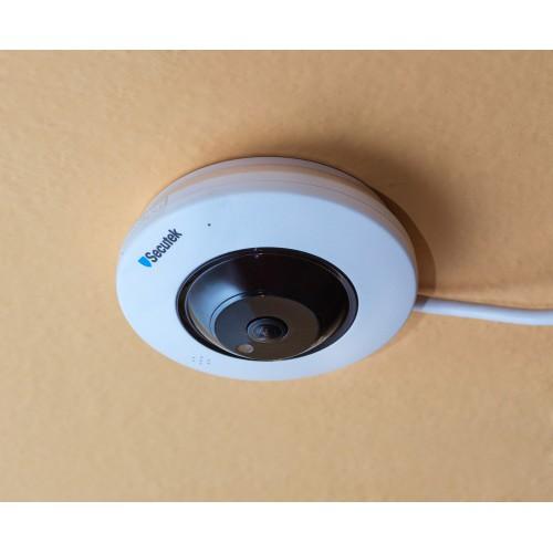 Panoramatická WiFi IP kamera Secutek LMDEF300 - 3Mpix, 180°