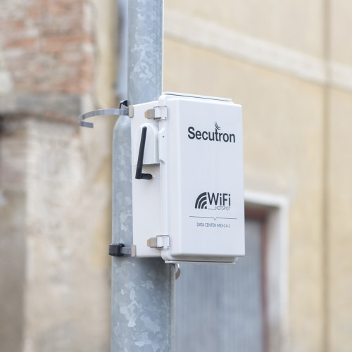 4G solární 4-kamerový systém Secutron MSS-C1G-4S