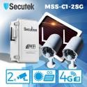 4G solární kamerový systém Secutron MSS-C1G-2S