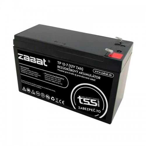 Bezúdržbový akumulátor ZABAT TP-12-7