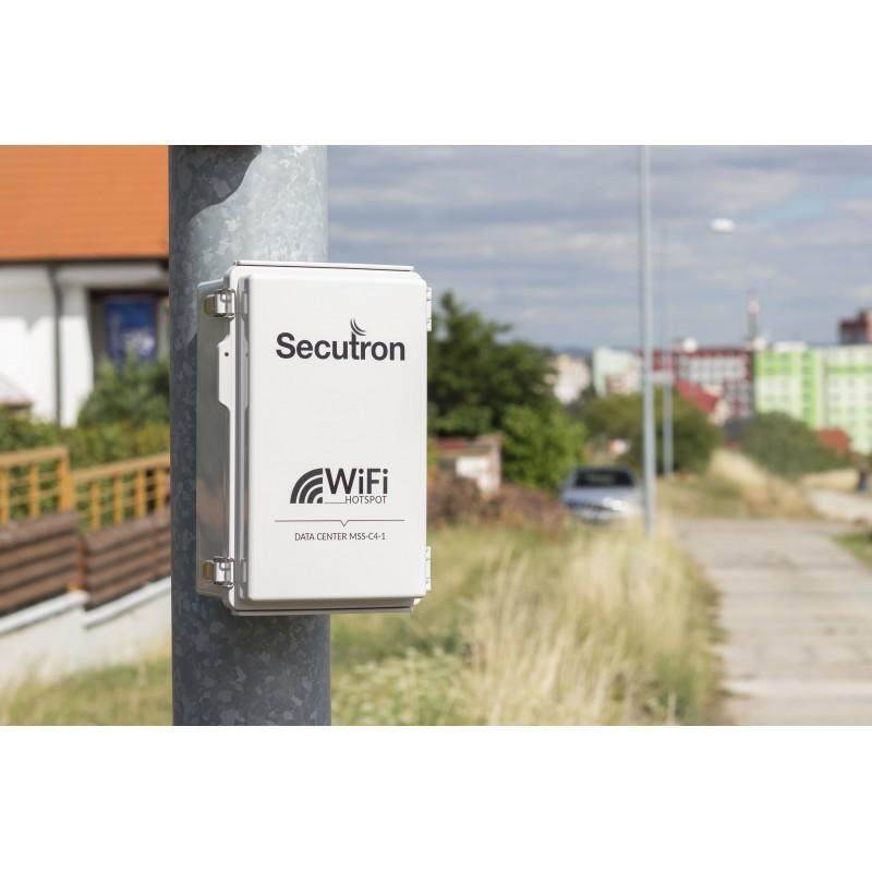 Outdoorový 4G LTE modem s GSM spínačem Secutron LS-1