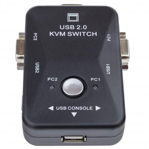 VGA switch - 2x vstup, 1x výstup
