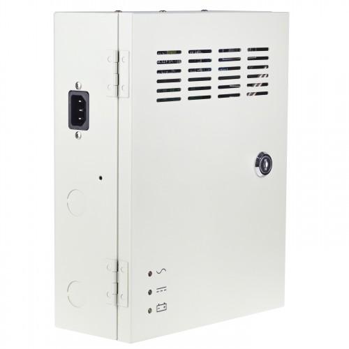 12V 10A záložní zdroj Secutek CP1209-10A-B s 9 výstupy