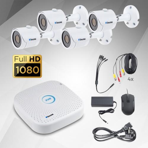 2Mp AHD kamerový systém Secutek KS8-2B