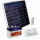 Solární systém 80Wp / 12V + 80Ah akumulátor