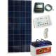 Solární systém 100Wp / 12V + 100Ah akumulátor