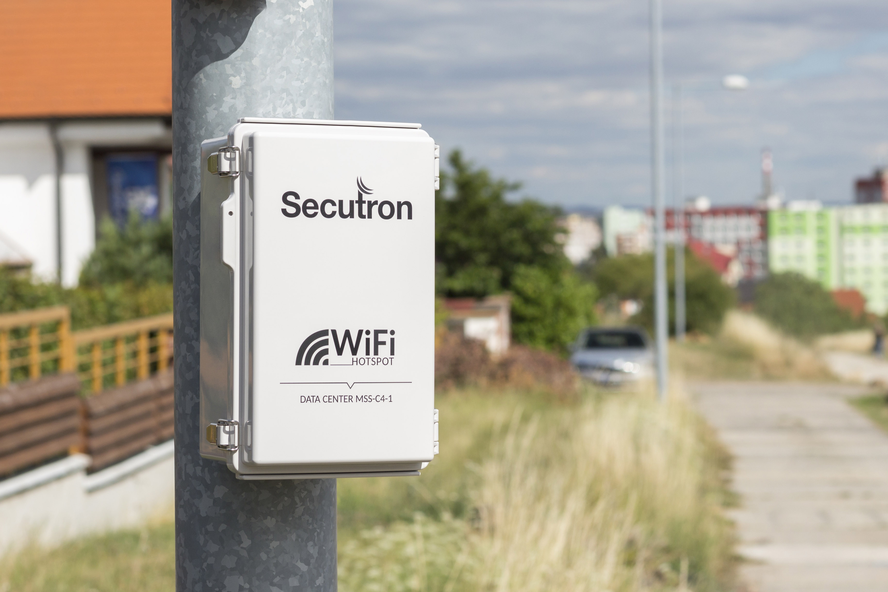 Outdoorový 4G LTE modem Secutron LS-1
