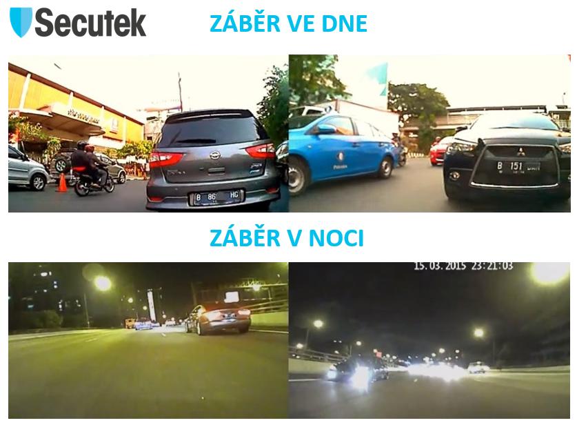 Kamera Secutek C1E - záběry