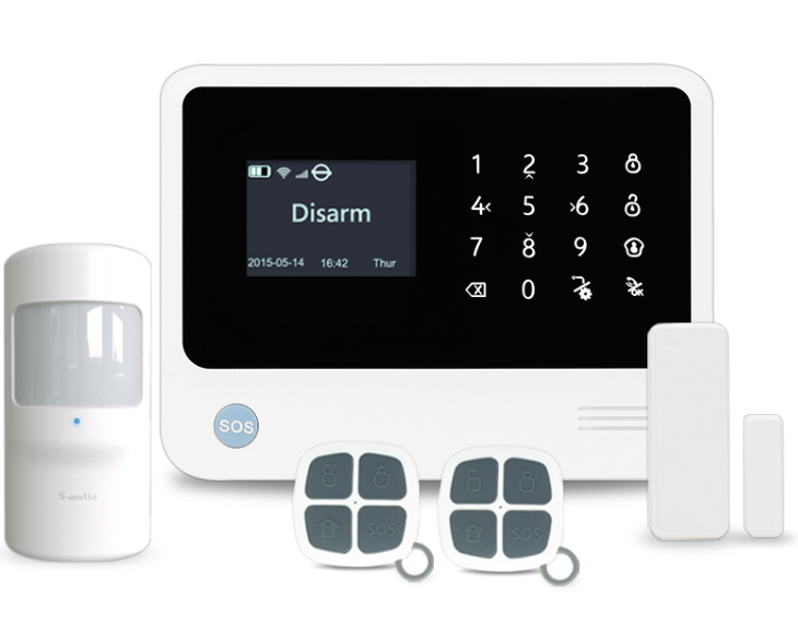 WiFi GSM alarm Secutek B90B Plus P
