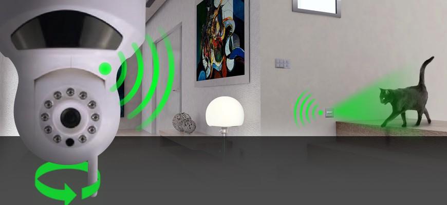 Zabezpečovací kamera s alarmem Secutek ZS-K1A